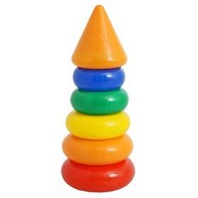 Пирамидка, 5 колец с конусом
