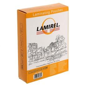 Пленка для ламинирования 100шт Lamirel 75x105мм, 125мкм Ош