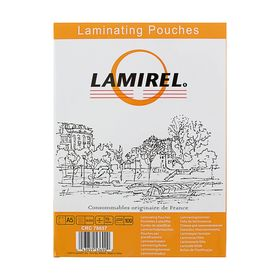 Пленка для ламинирования 100шт Lamirel А5, 75мкм Ош
