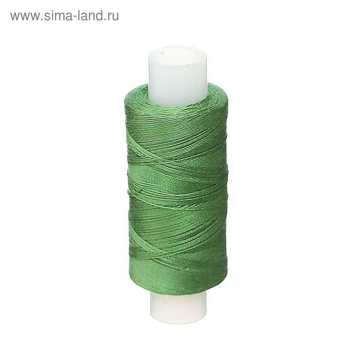 Нитки 40ЛШ 200 м, №75, цвет насыщенно-зелёный
