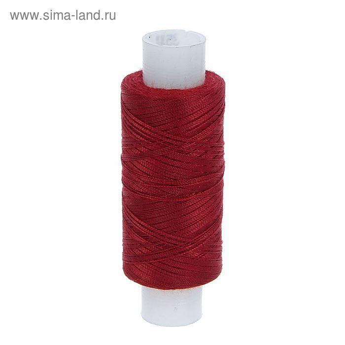 Нитки 35ЛЛ 200м, цвет бордовый (№29)