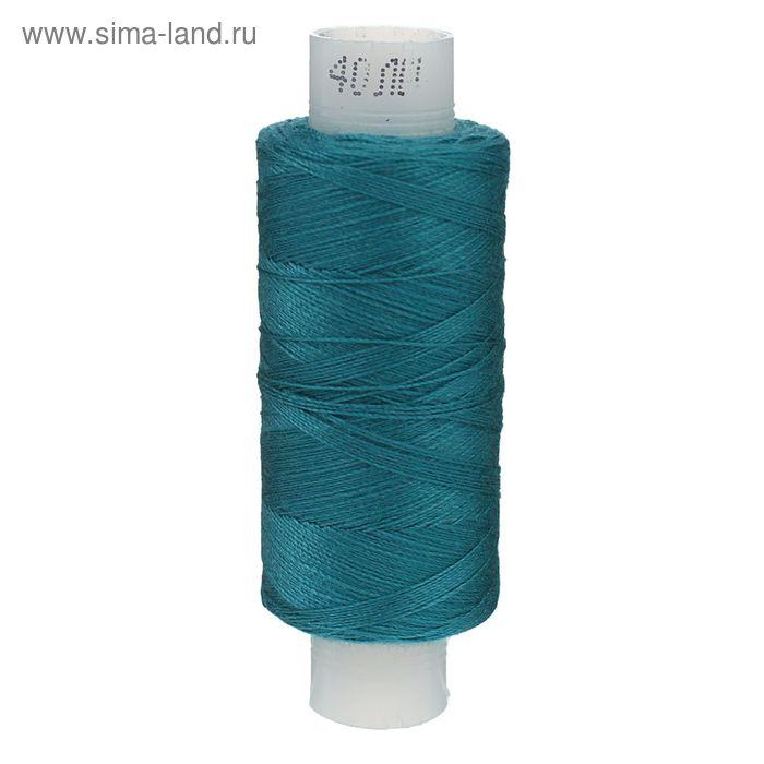 Нитки 40ЛШ 200 м, №239, цвет морская волна