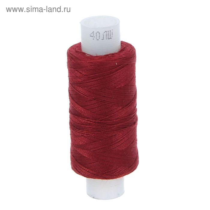 Нитки 40ЛШ, 200м, №29, цвет бордо