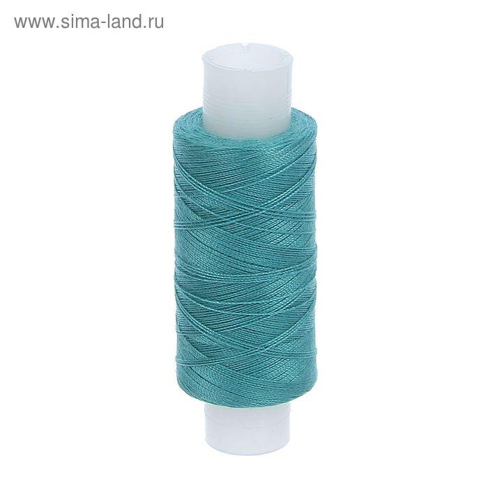 Нитки 35ЛЛ 200м, цвет морская волна (№162)