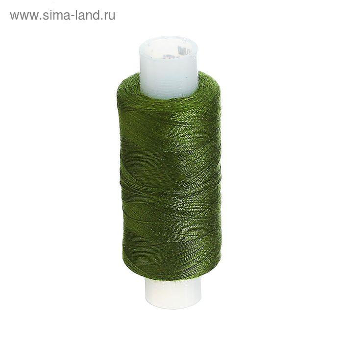 Нитки 40ЛШ 200 м, №79, цвет тёмно-зелёный