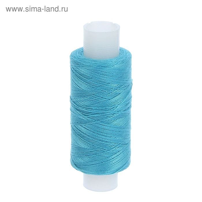 Нитки 40ЛШ 200 м, № 65, цвет голубой