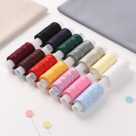 A set of threads 40LSH, 170 m, 14 pcs, MIX color.