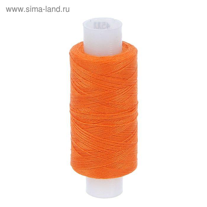 Нитки 45ЛЛ 200м, цвет оранжевый (№129)
