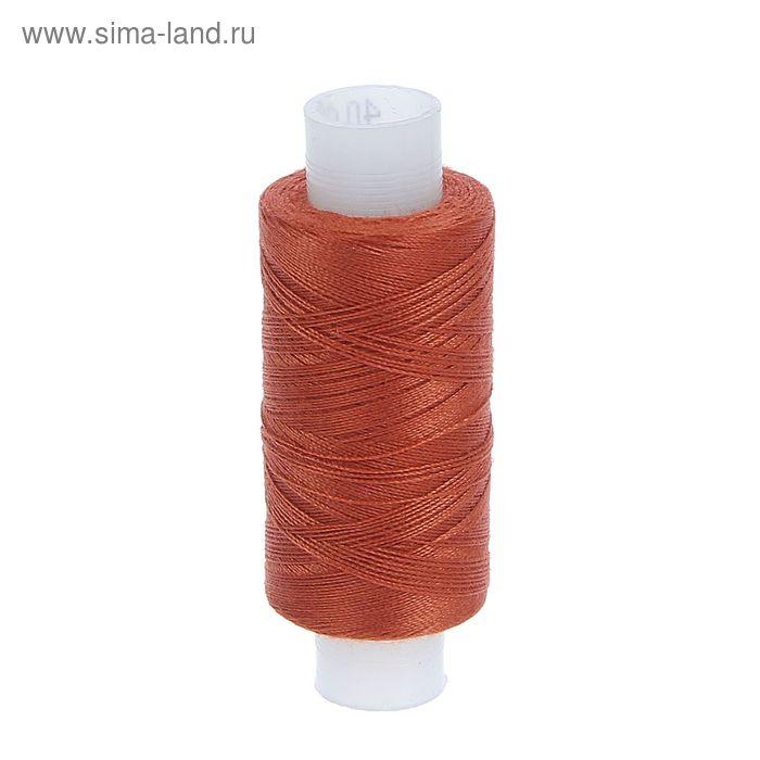 Нитки 40ЛШ, 200м, №135, цвет темно-рыжий