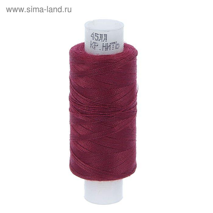 Нитки 45ЛЛ 200м, цвет бордовый (№37)