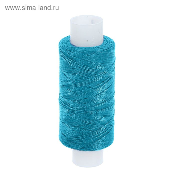 Нитки 45ЛЛ 200м, цвет синий (№58)