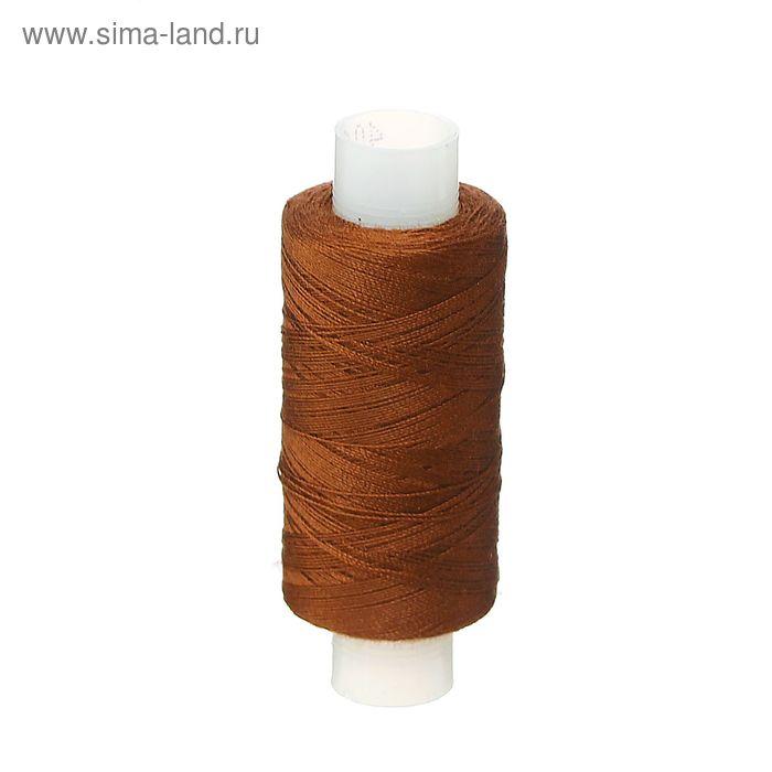 Нитки 40ЛШ 200 м, №104, цвет темный шоколад