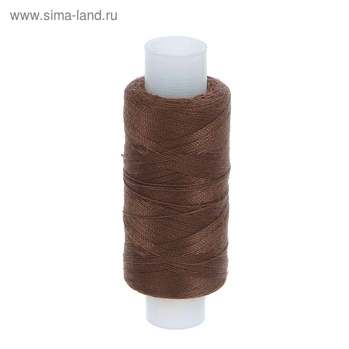 Нитки 45ЛЛ 200м, цвет коричневый (№100)