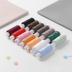 A set of threads 35LL, 200 m, 14 pcs, the color MIX.
