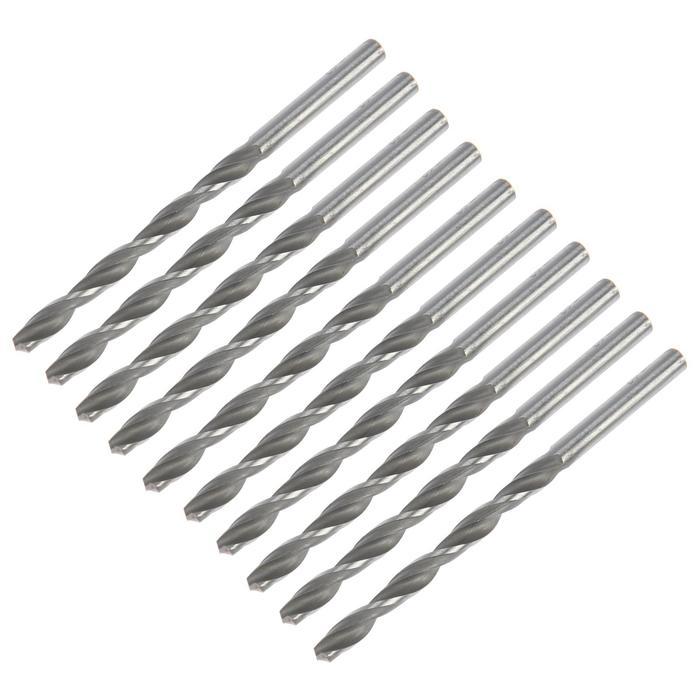 Сверло по металлу TUNDRA basic, набор 10 шт., сталь HSS, 4,5 мм.