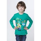 """Джемпер для мальчика """"Миньоны"""", рост 146 см (76), цвет зелёный ZB 03189"""