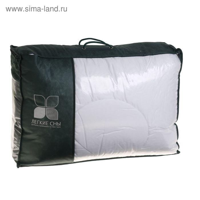 Одеяло стеганое Тропикана 200х220 см теплое, 300гр/м, бамб.волокно, микрофибра белый