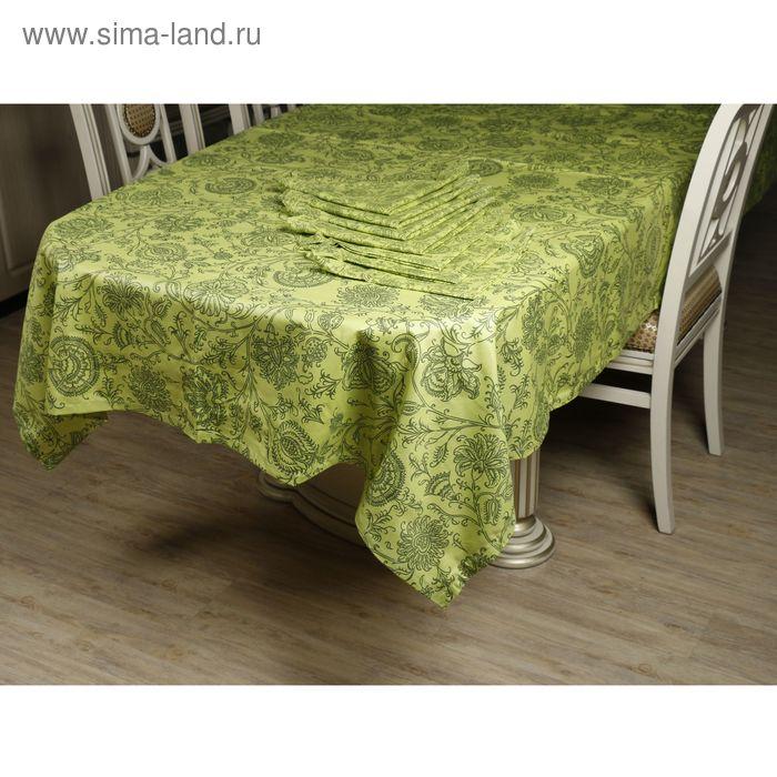 Набор столовый: скатерть 220х144 см, салфетки 40х40 см-12 шт., пропитка ВМГО