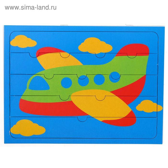 """Пазлы для малышей """"Самолетик"""", 5 элементов"""