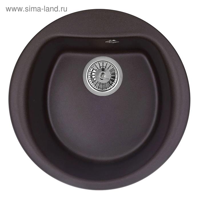 """Мойка кухонная гранитная Granula 5101 """"Шоколад"""""""
