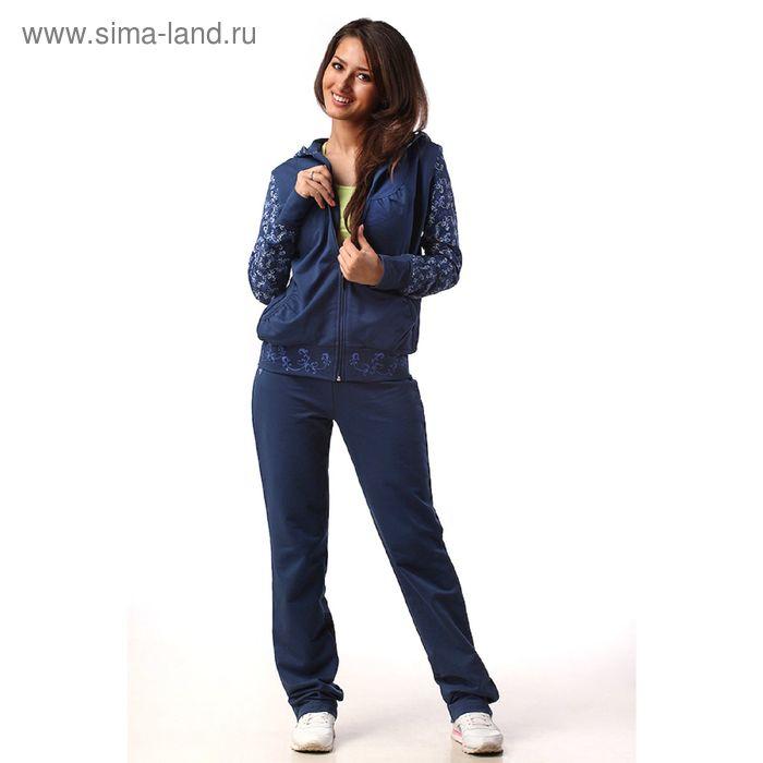 Костюм женский М-350-05, синий, р-р 50