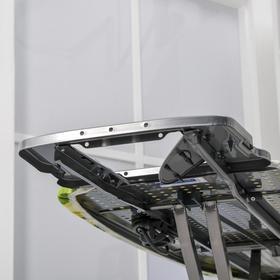 Доска гладильная «Ника 10+», 122×40 см, металл, регулируемая высота до 90 см, европодставка, рисунок МИКС - фото 4636117
