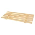 Решетка для ванной деревянная, большая