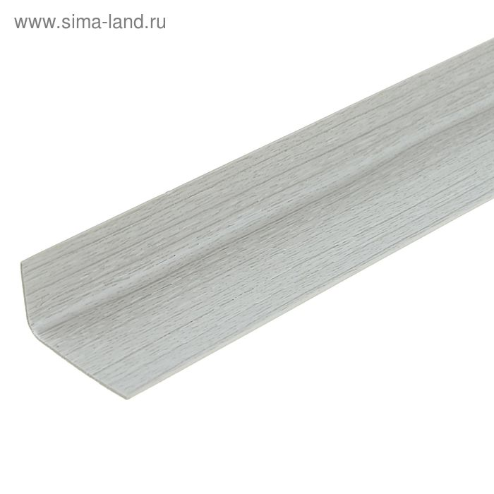 Уголок арочный 20*12, 2,7м серый ясень