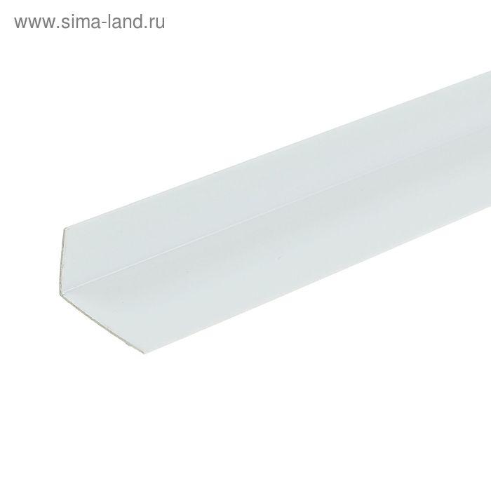 Уголок арочный 20*12, 2,7м белый