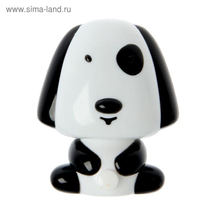 """Ночник """"Собака"""" чёрный 1 LED"""