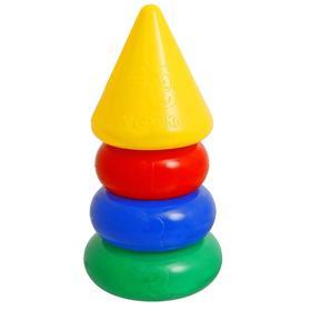Пирамидка, 3 кольца с конусом