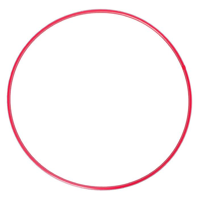 Обруч, диаметр 90 см, цвет красный