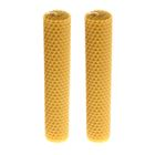 Набор свечей из вощины медовая 18 см, 2 шт