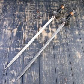 Сувенирное оружие на планшете «Рыцарский турнир», два меча на щите, 71см - фото 4677871