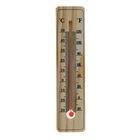 Термометр спиртовой, уличный, 15 × 3.5 см, дерево