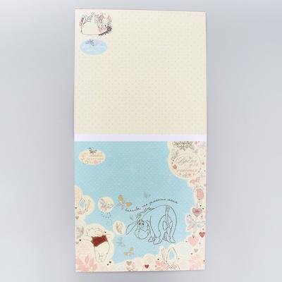 """Набор бумаги для скрапбукинга """"Дружба мне это нужно"""", Медвежонок Винни и его друзья, 12 листов, 29.5 х 29.5 см, 160 г/м2"""