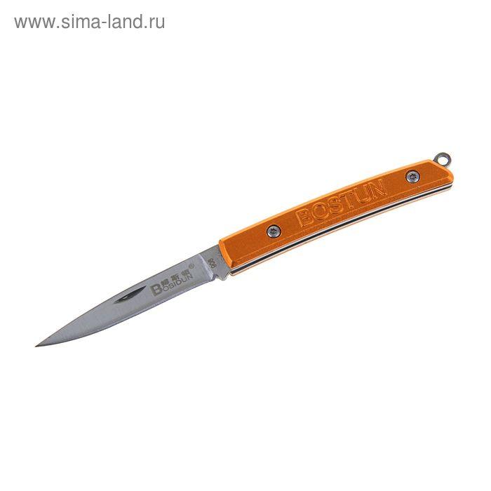 Нож складной неавтоматический, рукоять узкая