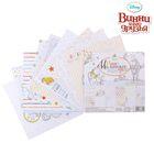 """Набор бумаги для скрапбукинга """"Наше Маленькое чудо"""", Медвежонок Винни, Дисней Беби, 12 листов, 14.5 х 14.5 см, 160 г/м2"""