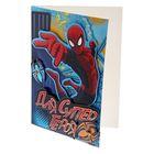 """Набор для создания открытки """"Для супергероя"""", Человек-Паук"""
