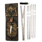 """Набор для шашлыка """"Охота на лося"""": 6 шампуров,мангал, нож"""