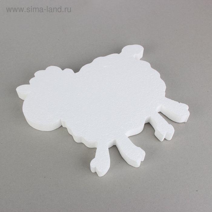 "Заготовка из пенопласта ""Овечка"", 30 х 3 см"