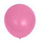 """Шар латексный 32"""" «Гигант», пастель, 1 шт., цвет розовый - фото 308470208"""
