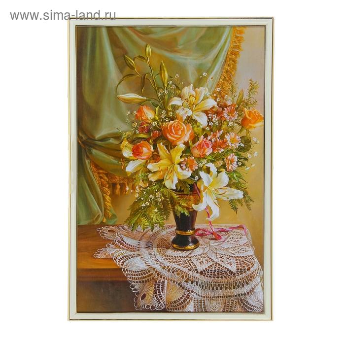 """Картина """"Цветы в вазе"""""""