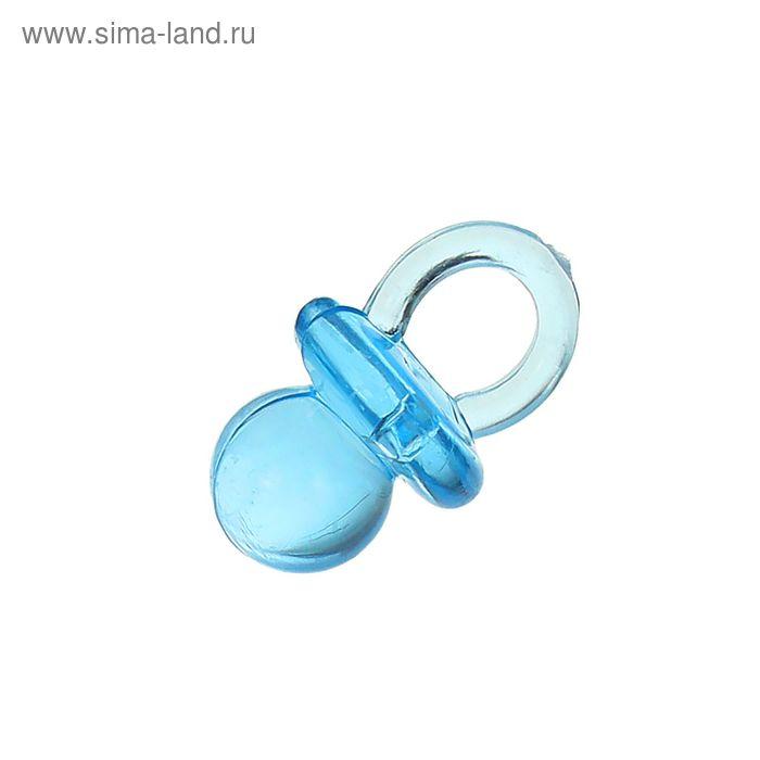 """Декор """"Соска"""", набор 12 шт., цвет голубой"""