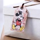 """Шильдик на подарок (6 шт.) """"Классический Микки"""": Микки Маус, 5x9 см"""