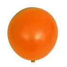 """Шар латексный 32"""" «Гигант», пастель, 1 шт., цвет оранжевый - фото 308470219"""