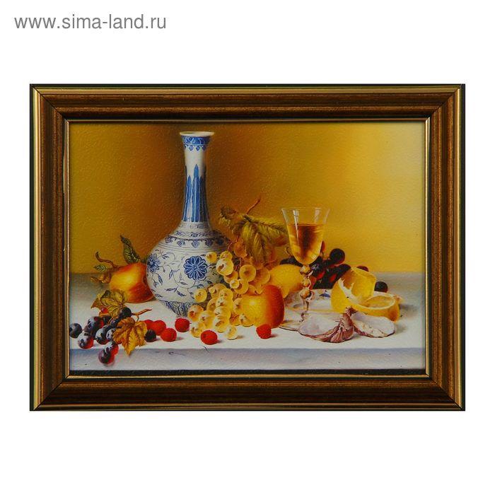 """Картина """"Натюрморт с расписной вазой"""""""
