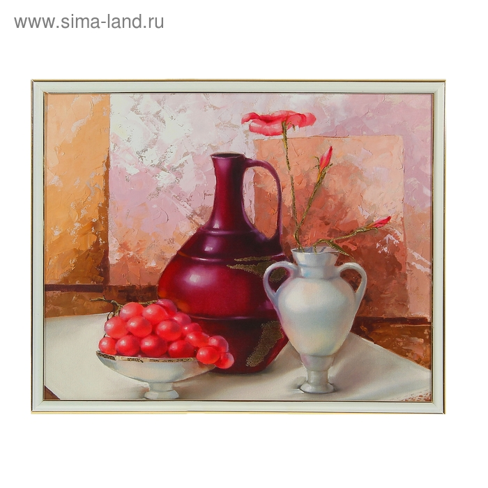 """Картина """"Натюрморт с вазой"""""""