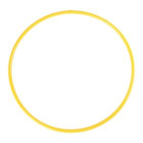 Обруч, диаметр 70 см, цвет жёлтый