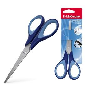 Ножницы 17 см, Standard +, с улучшенной двойной заточкой, ручки с противоскользящими резиновыми вставками, МИКС